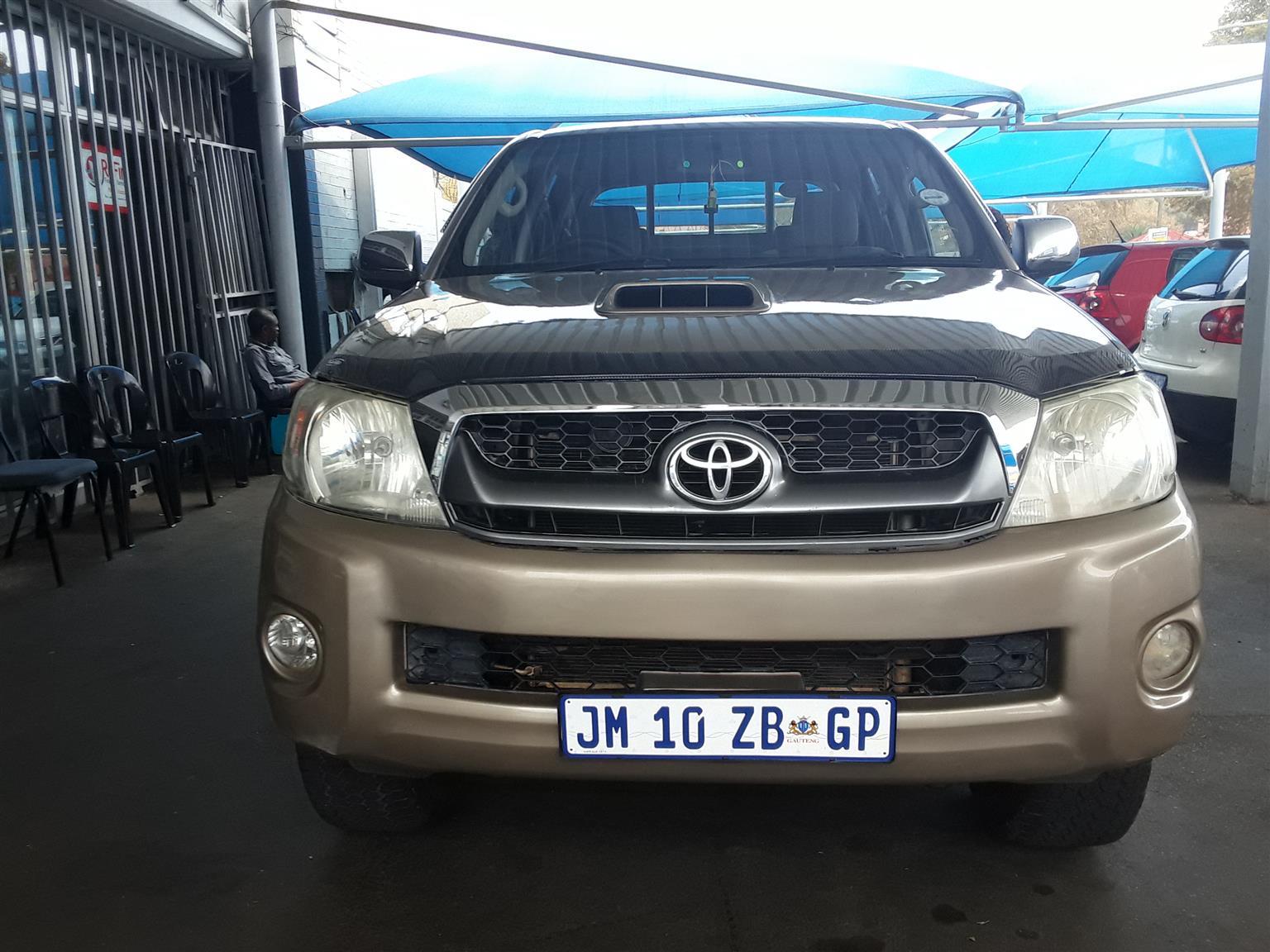 2010 Toyota Hilux 3.0D 4D double cab 4x4 Raider