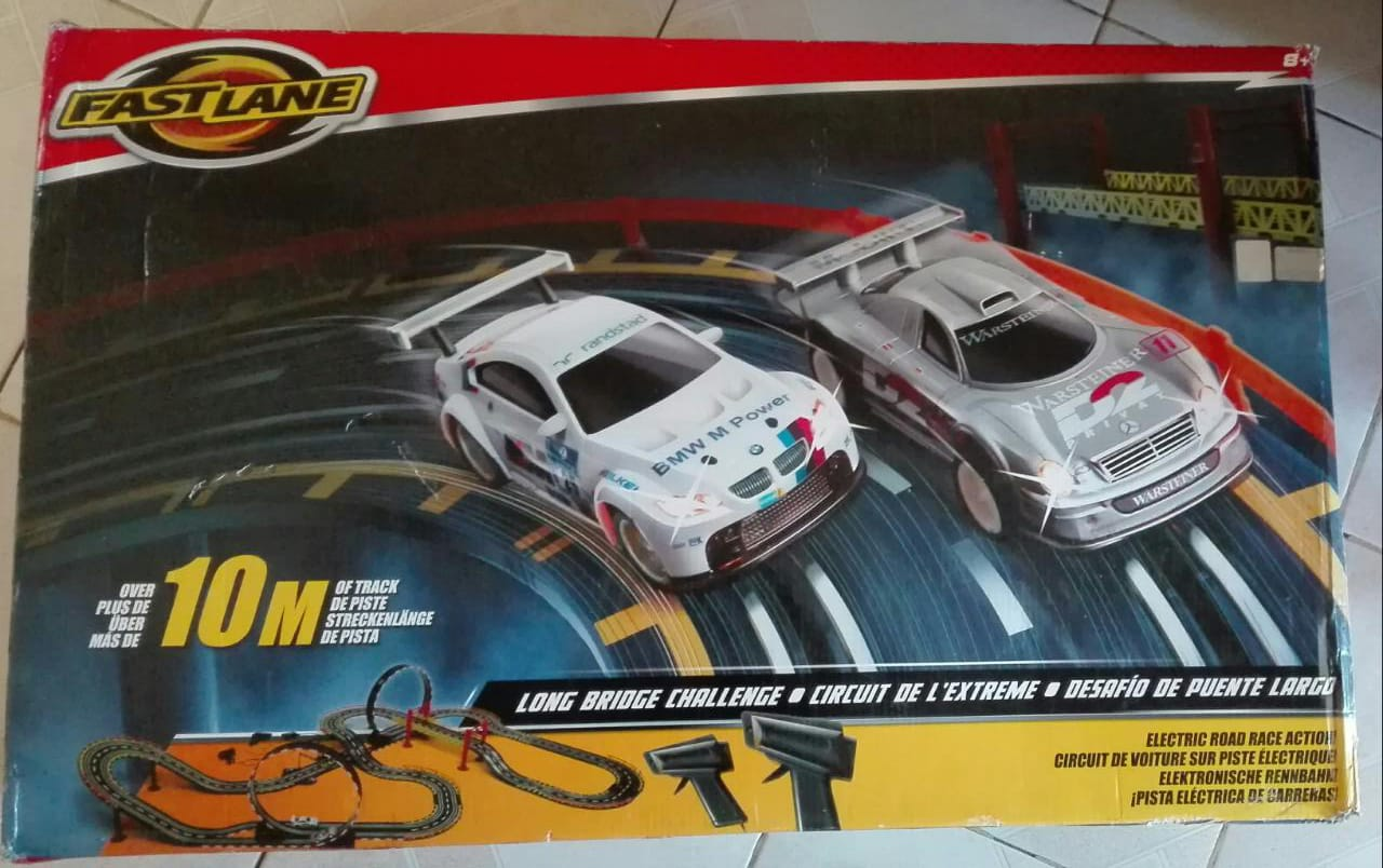 Carrera and Fast Lane Slot Car Track Sets for Sale | Junk Mail
