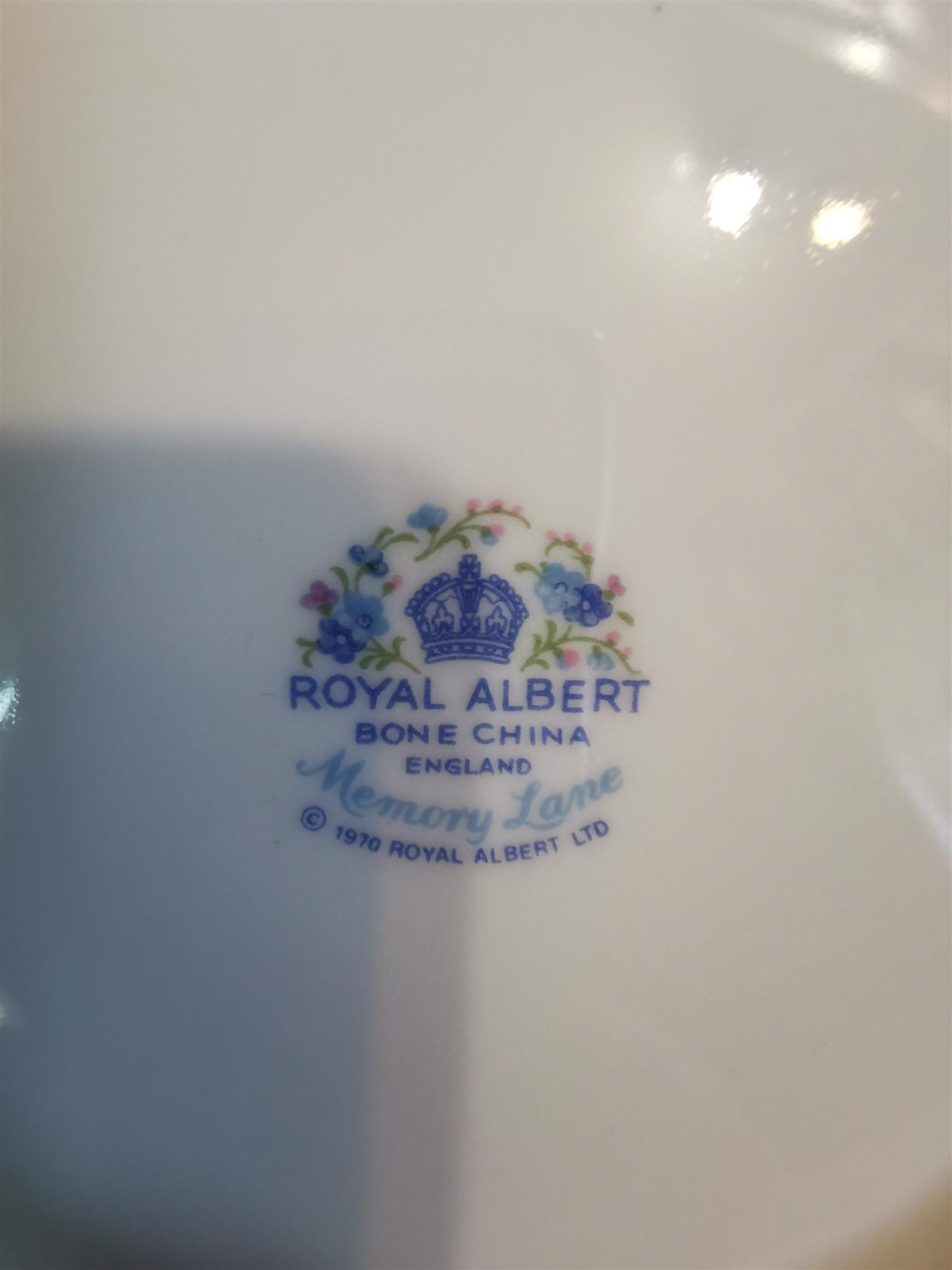 Royal albert bone china 1970