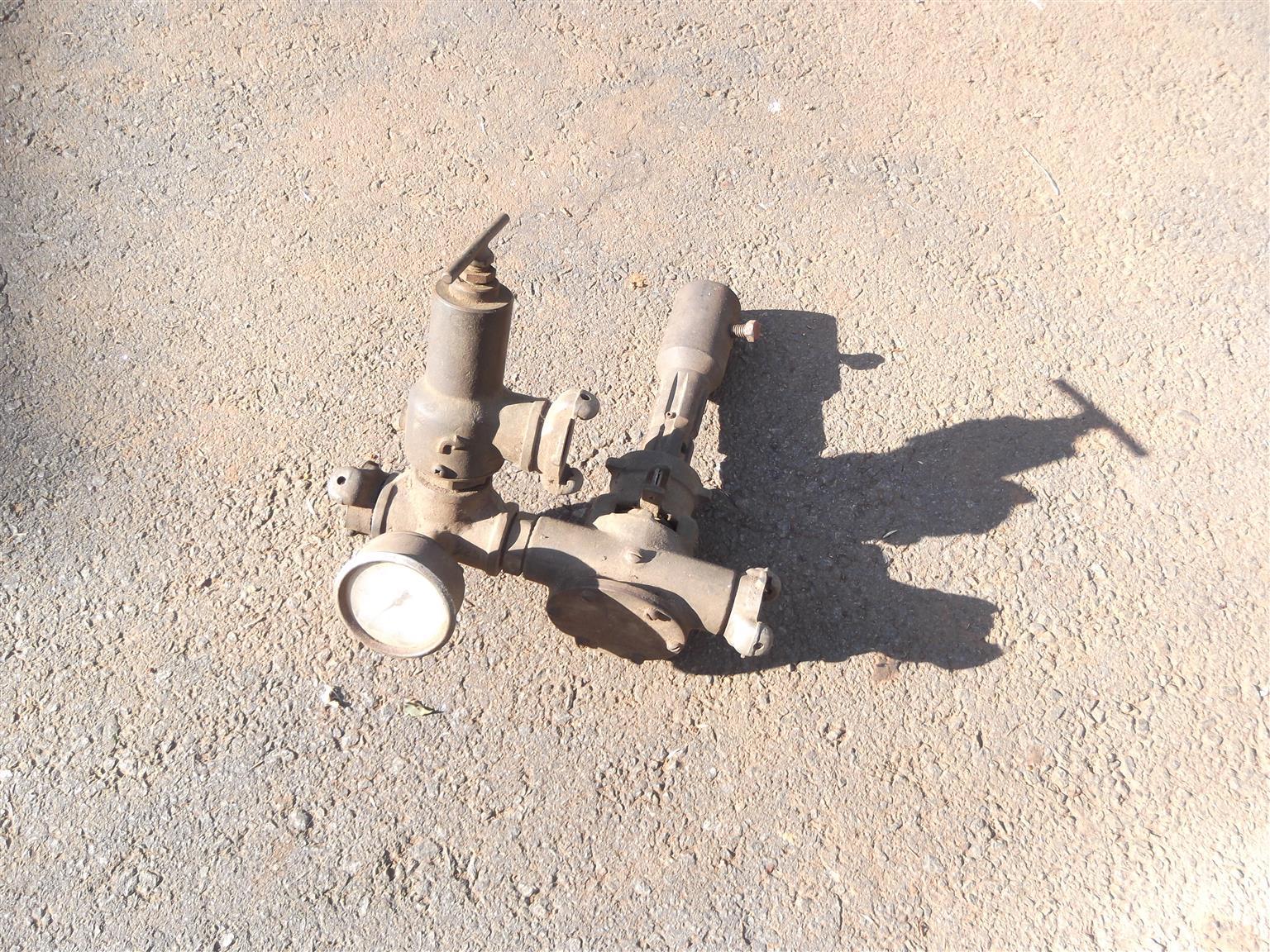 Jabsco tractor PTO fire fighting pump and crop sprayer pump