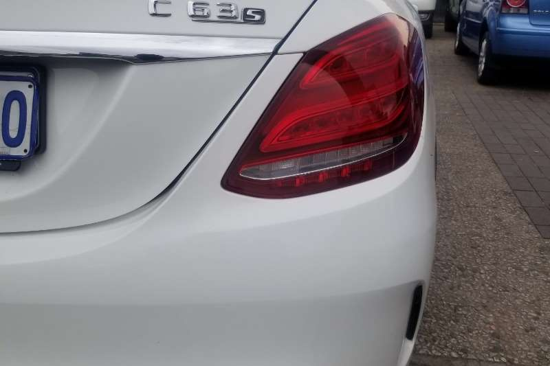2017 Mercedes Benz C-Class sedan AMG C63 S