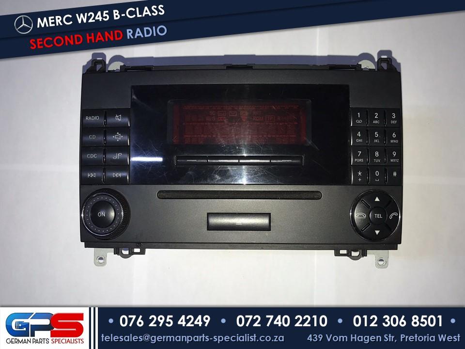 Mercedes-Benz W245 B-Class Car Radio