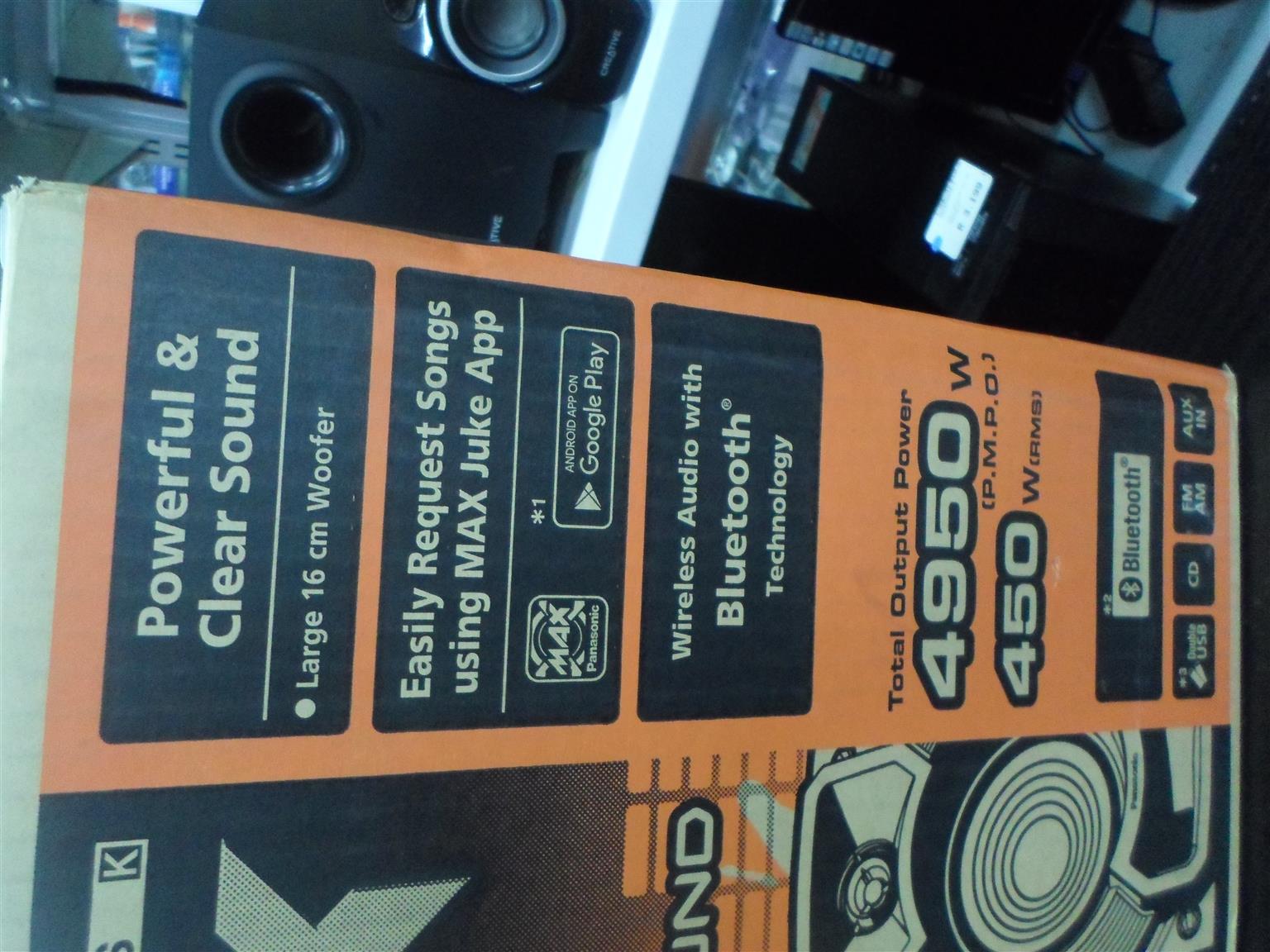 Panasonic SC-AKX220 CD Stereo System