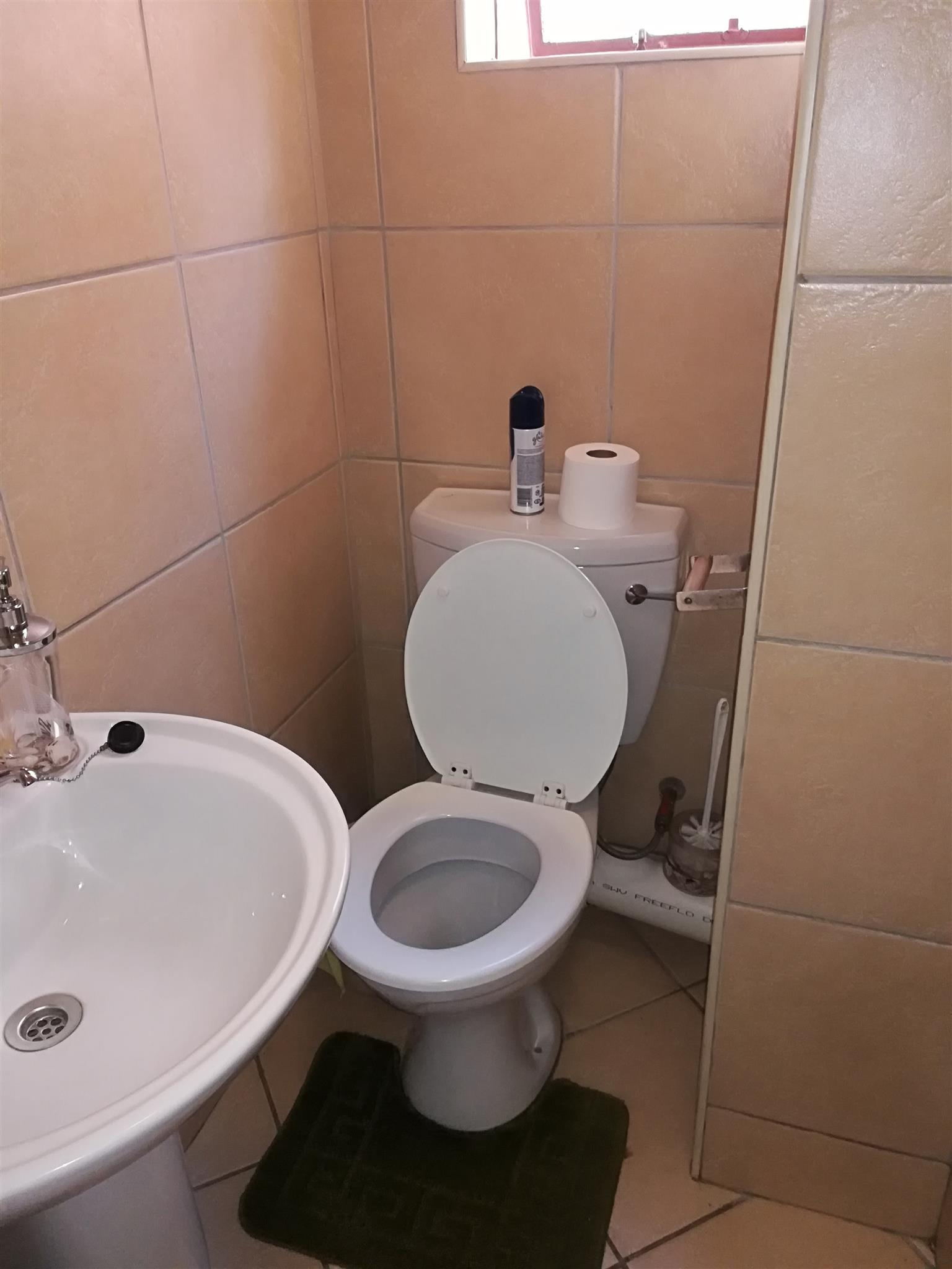 A Specious One Room to Rent in Two Bedroom Flat in Pretoria West from the 01st of August 2019.