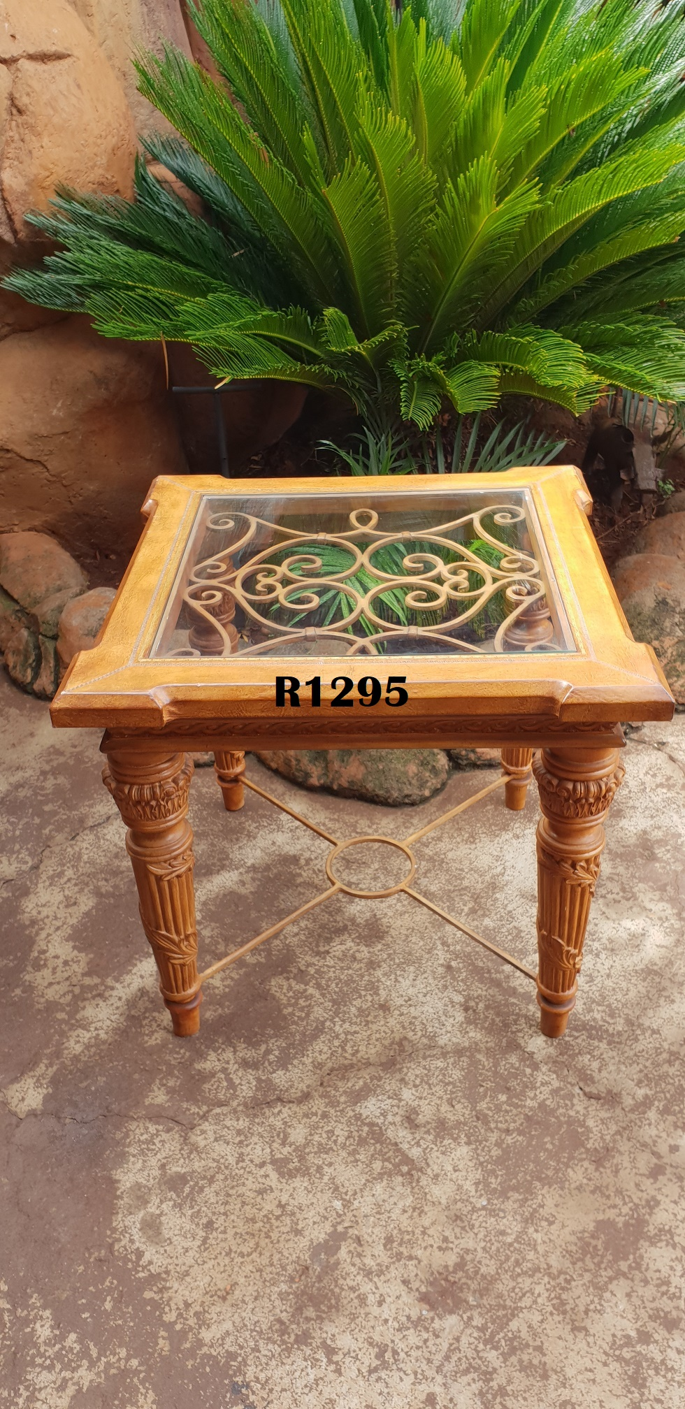 Exquisite Leather Touch Square Coffee Table (715x715x645)