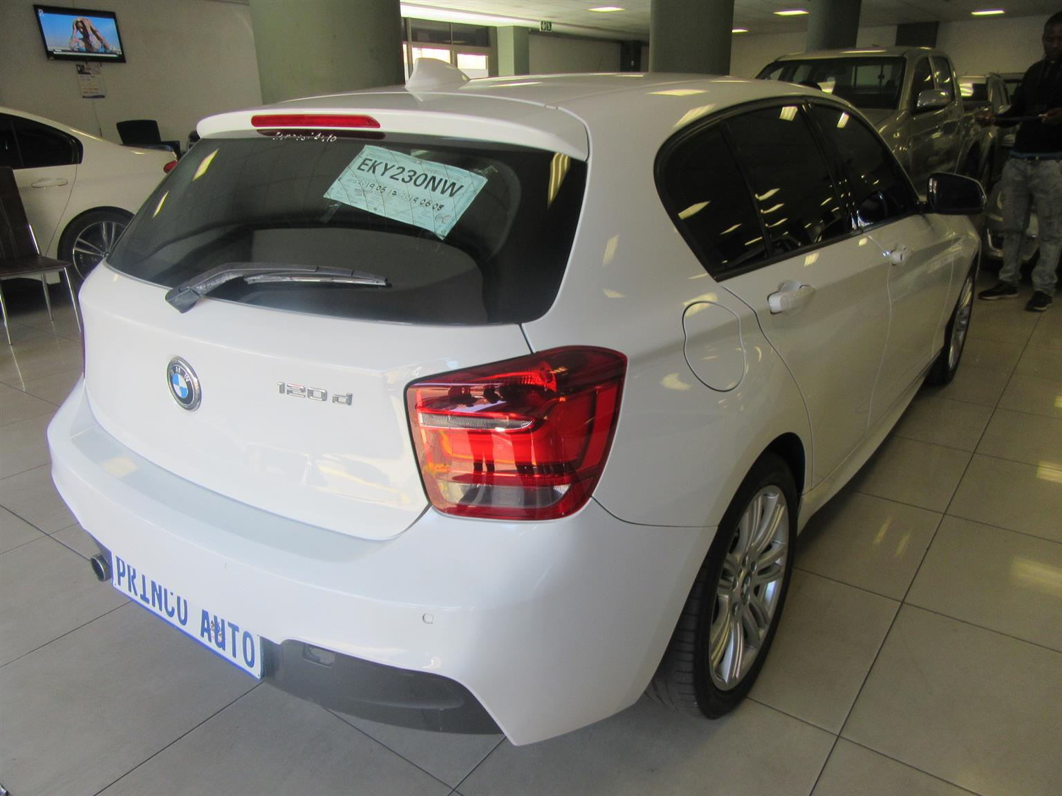2013 BMW 1 Series 120d 5 door M Sport