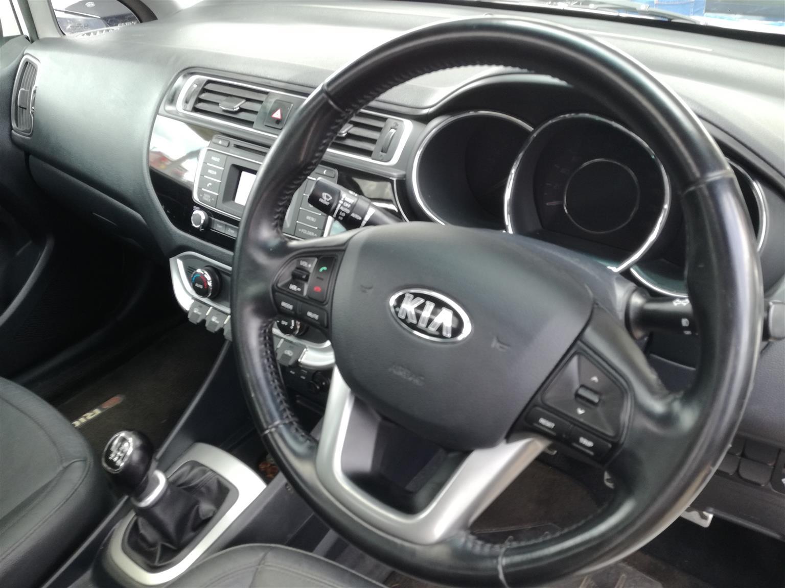 2015 Kia Rio sedan 1.4 Tec