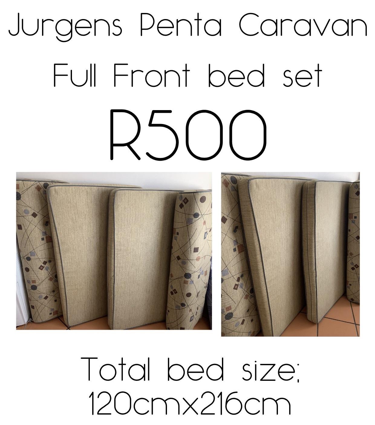Jurgens Penta Front Bed Mattress Set