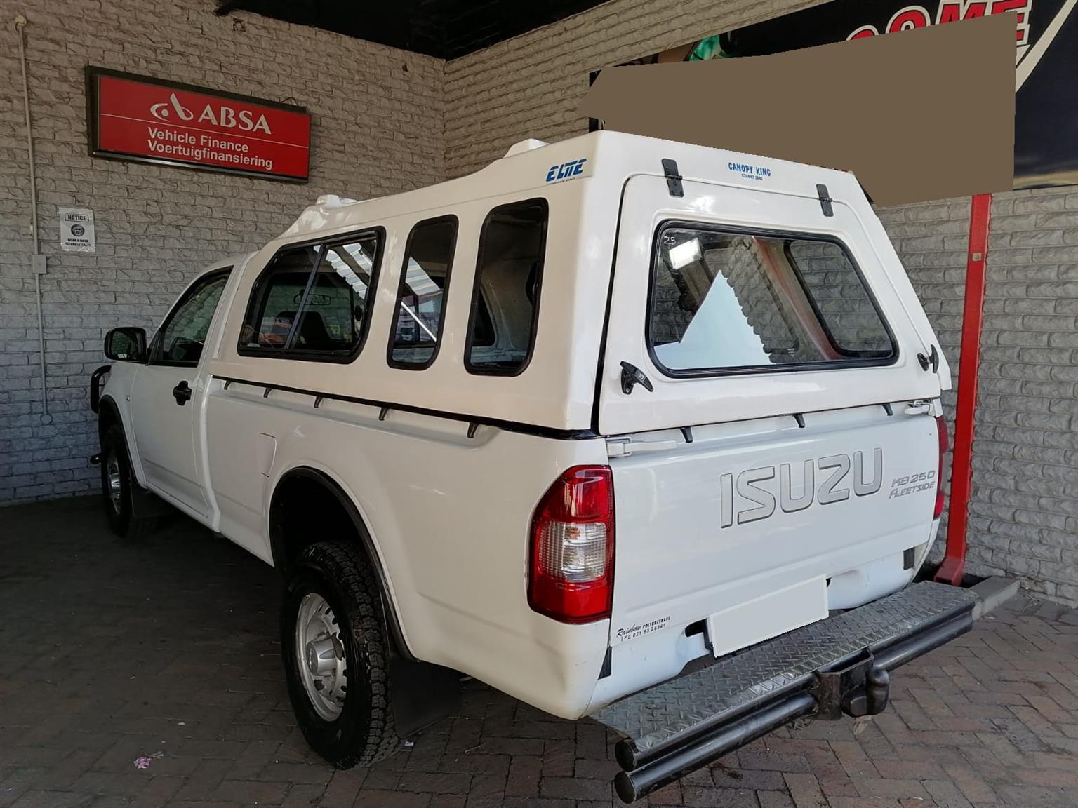2007 ISUZU KB250 FLEETSIDE S/CAB