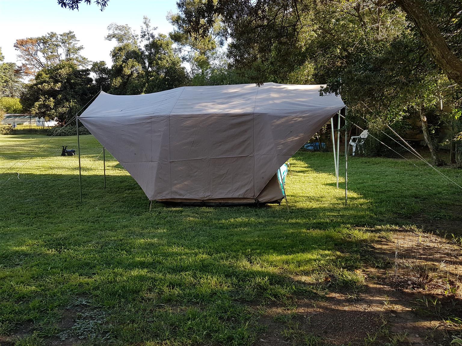 Canvas Camping tent Tentco