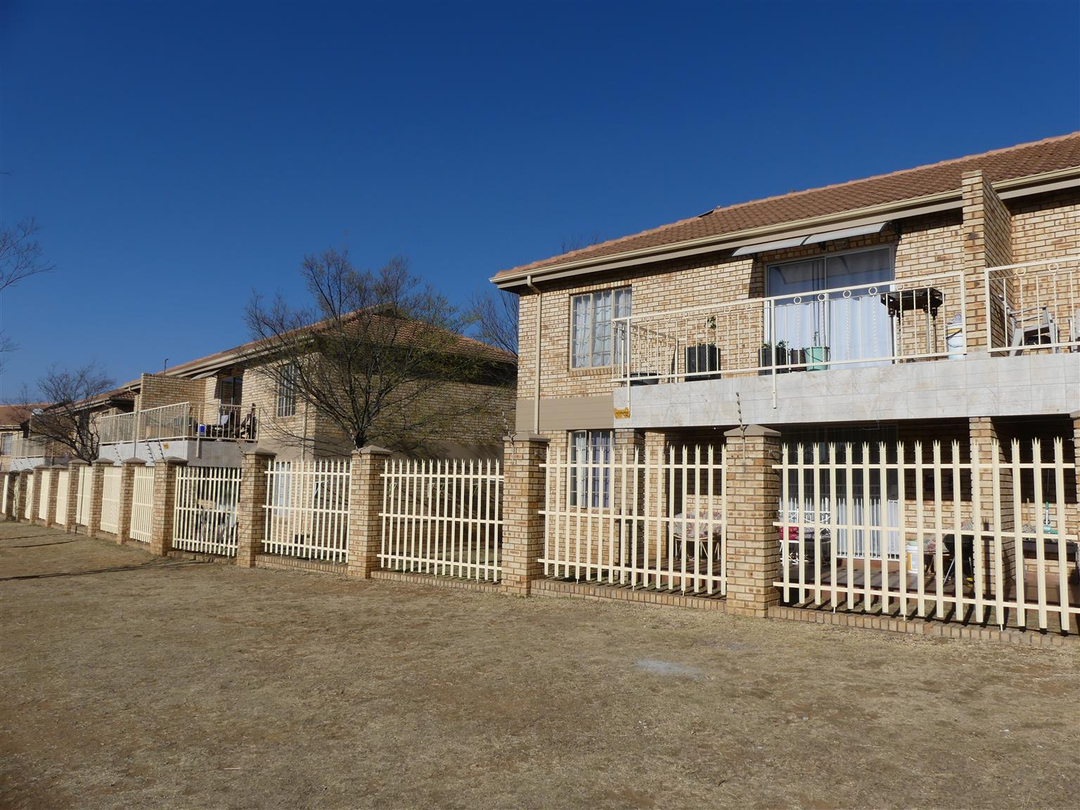 NEAT AND SECURE TWO BEDROOM FLAT