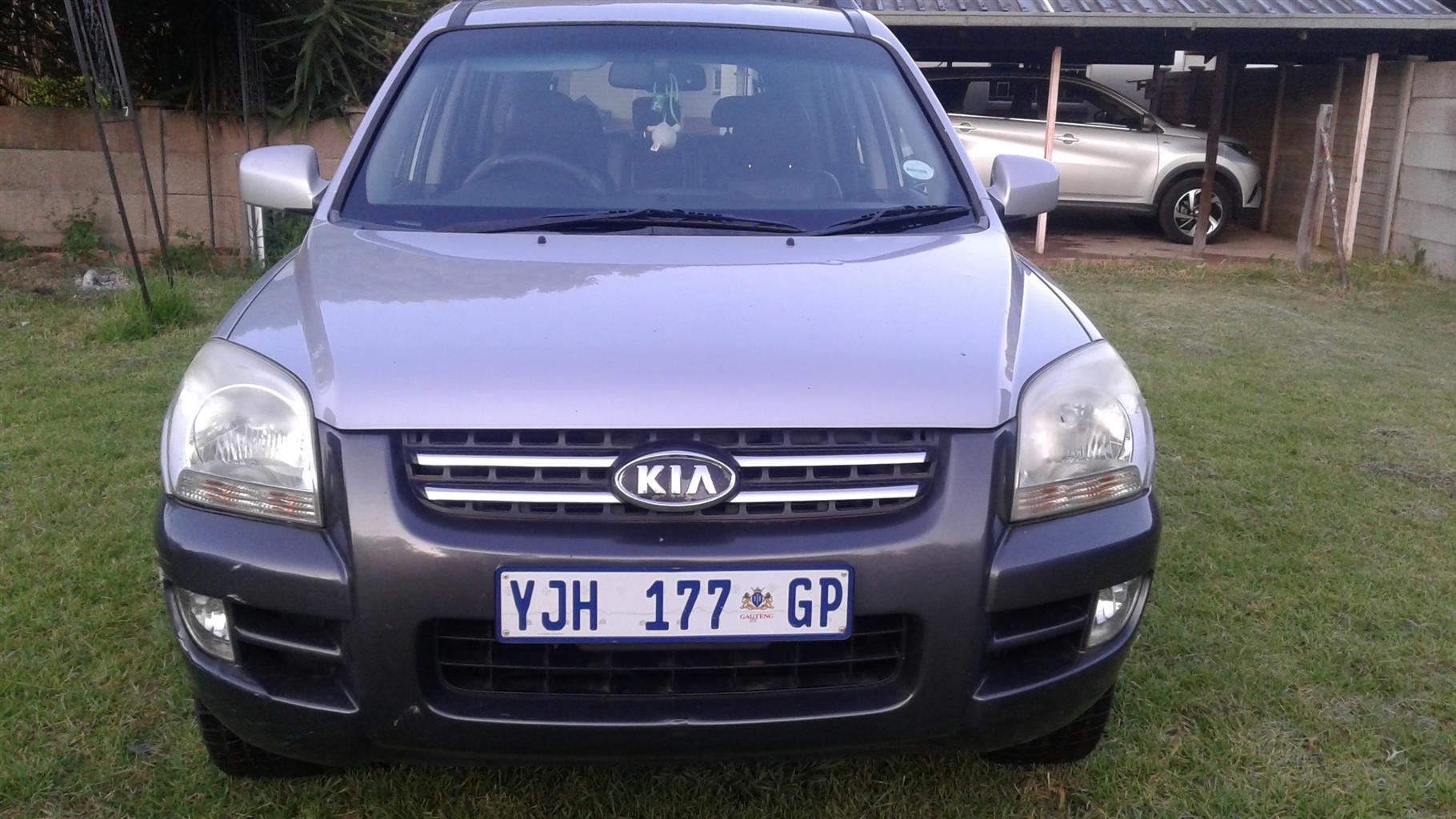 2006 Kia Sportage 2.0 auto