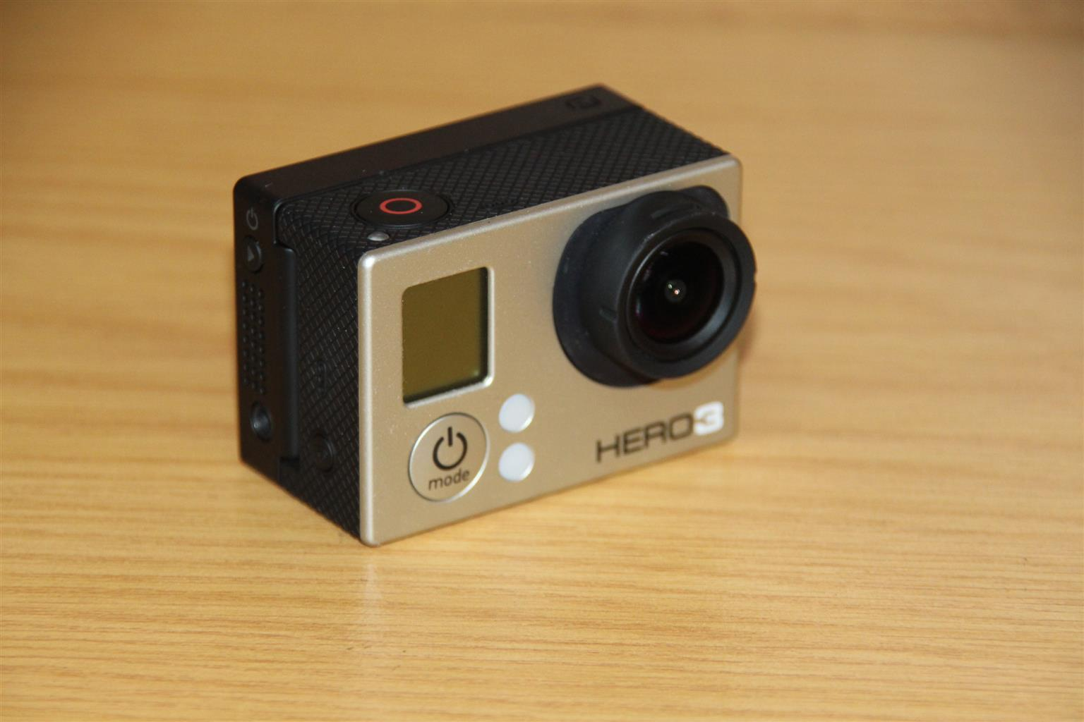 Go Pro hero 3 white with Touch screen