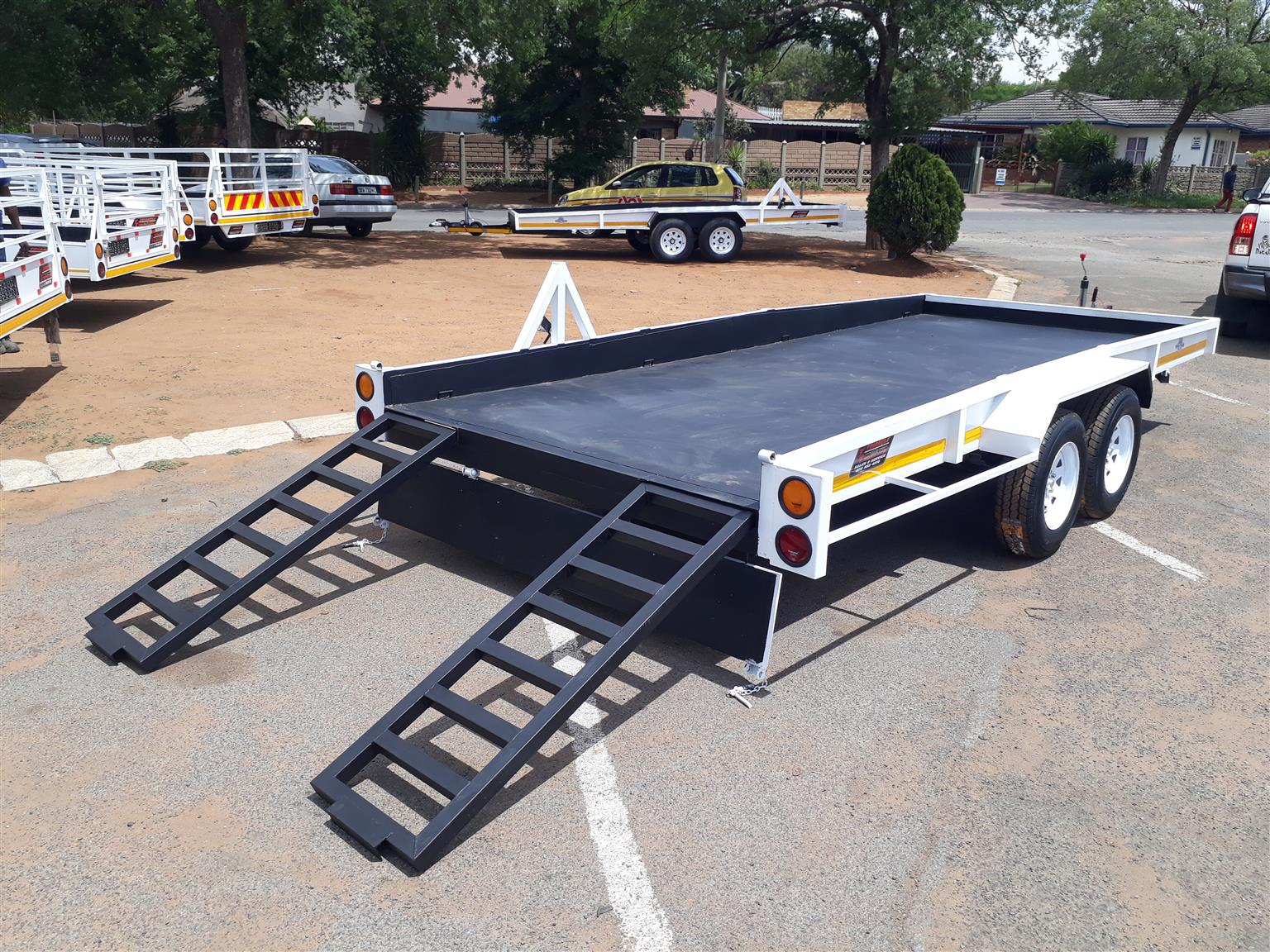 Heavy Duty Car Trailers On Big Sale Hook Go Junk Mail