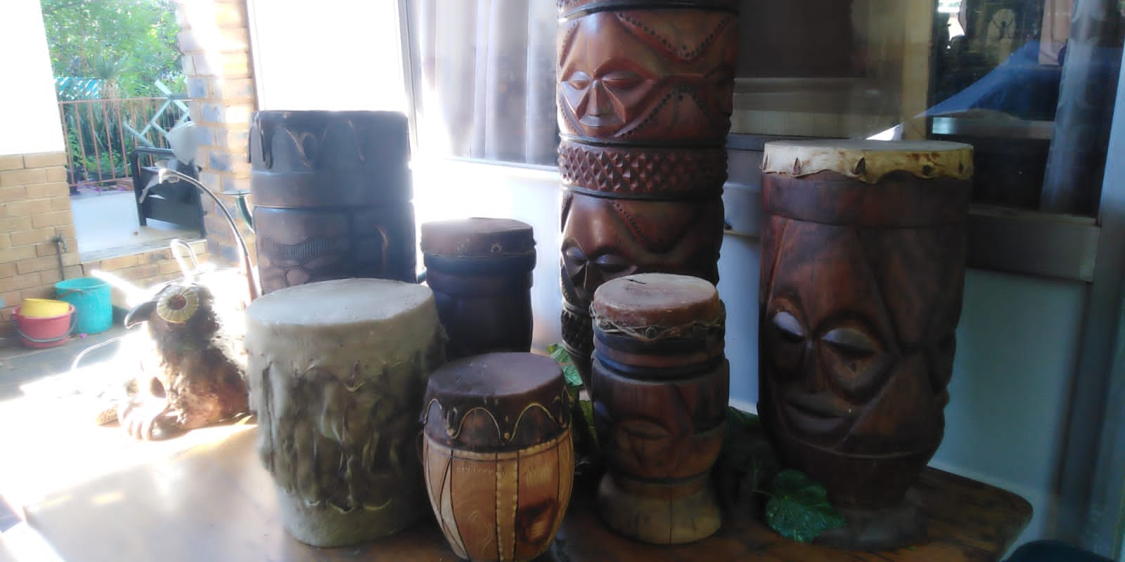 African Drums each