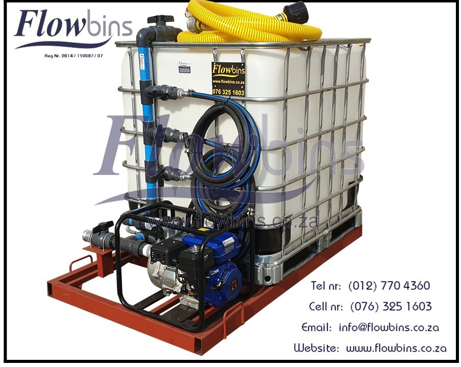 NEW 1000L Water Bowsers / Fire Fighters - Multi Purpos