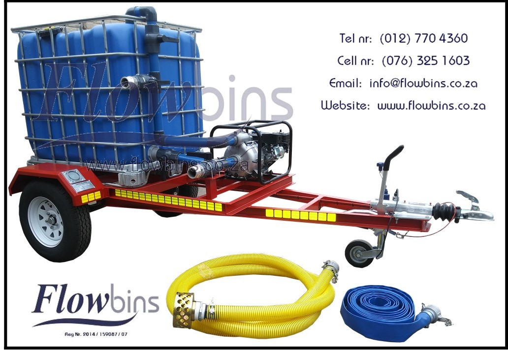 NEW 1000Lt - 2500Lt Honey Sucker / Sewerage Trailers with Papers from R 32 700