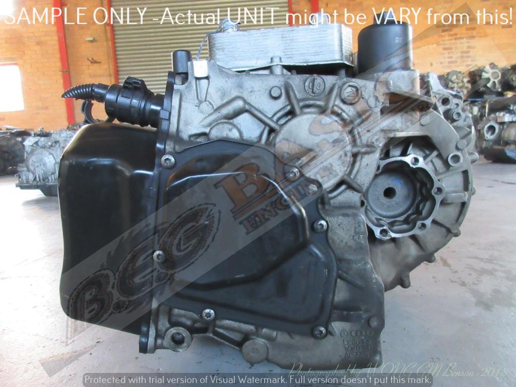 VOLKSWAGEN -BLG 1 4 TSI 02E DSG 6 SPEED AUTO FWD Gearbox   Junk Mail