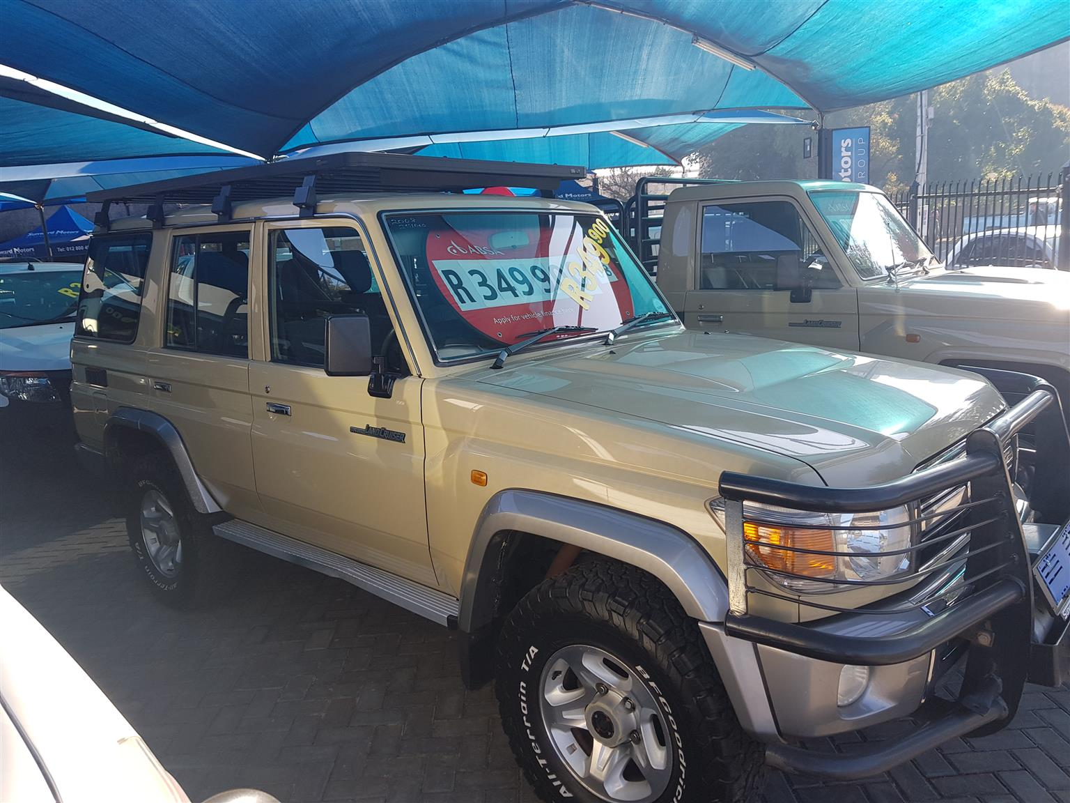 2008 Toyota Land Cruiser 70 series 4.2D