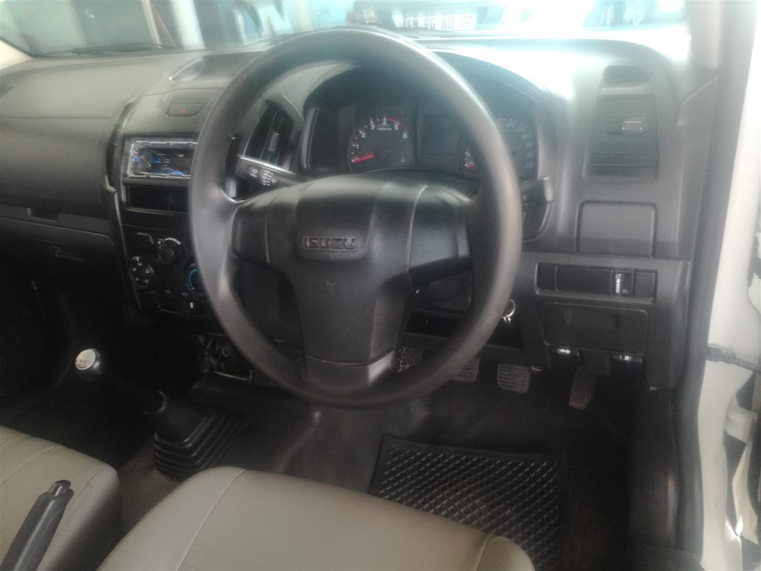 2016 Isuzu KB single cab KB 250 D TEQ HO HI RIDER 4X4 S/C P/U