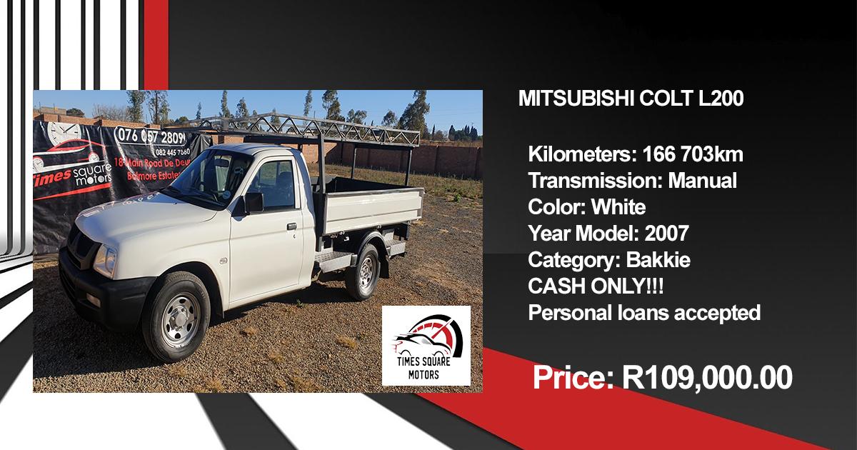 Mitsubishi Colt L200