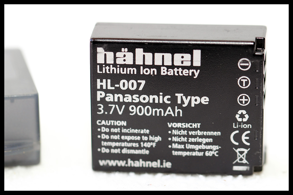 hähnel HL-007 Battery for Panasonic