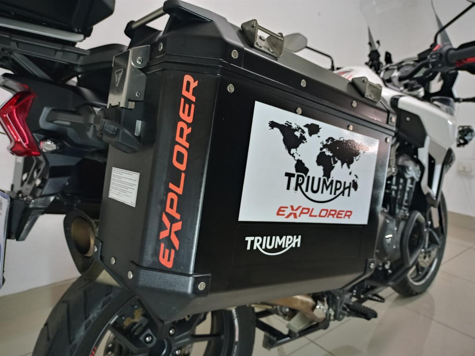 2017 Triumph Explorer