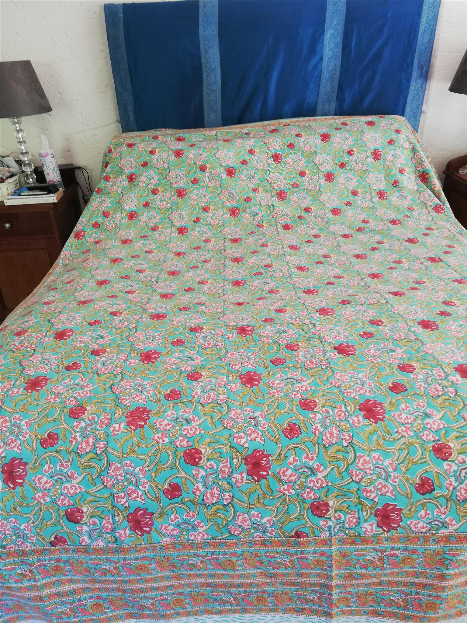 Indian cotton bed covers