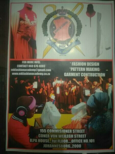 Fashion/sewing school