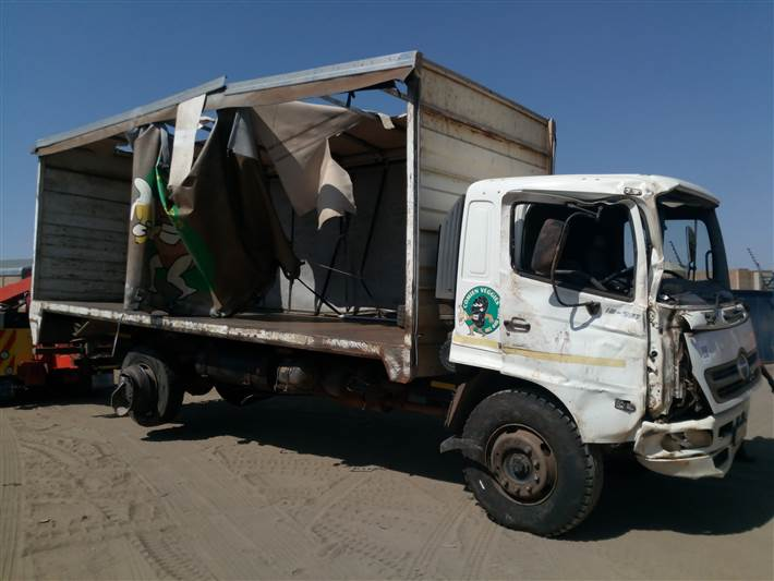 HINO 500 16/26 - Stripping for spares only