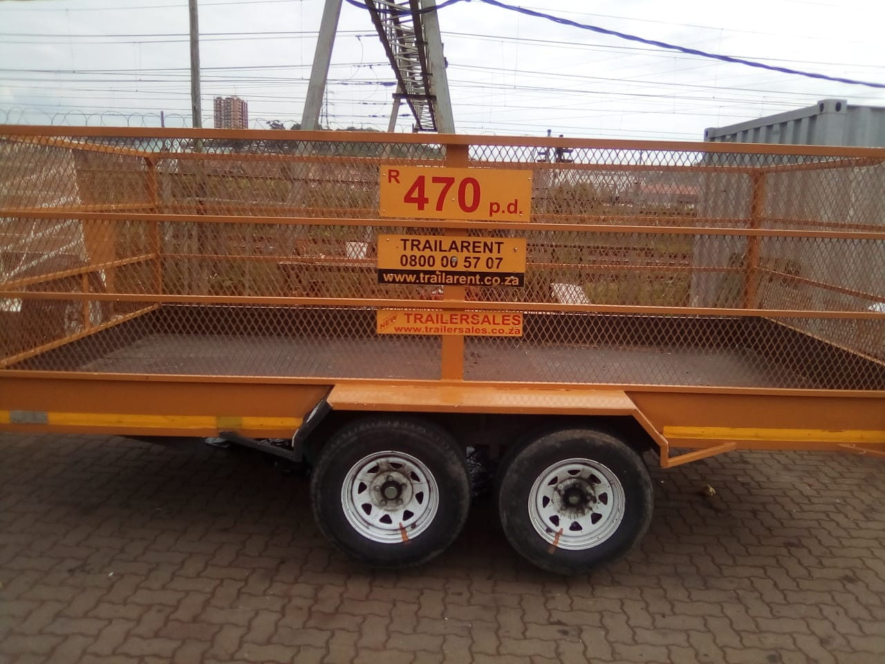 TRAILERS FOR HIRE IN DURBAN
