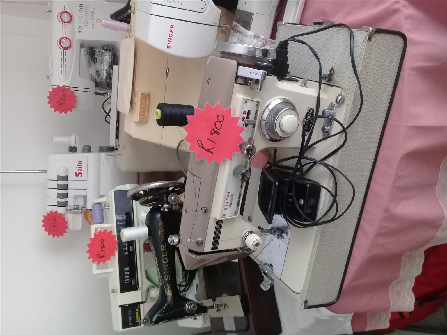 Sewing Accessories Available