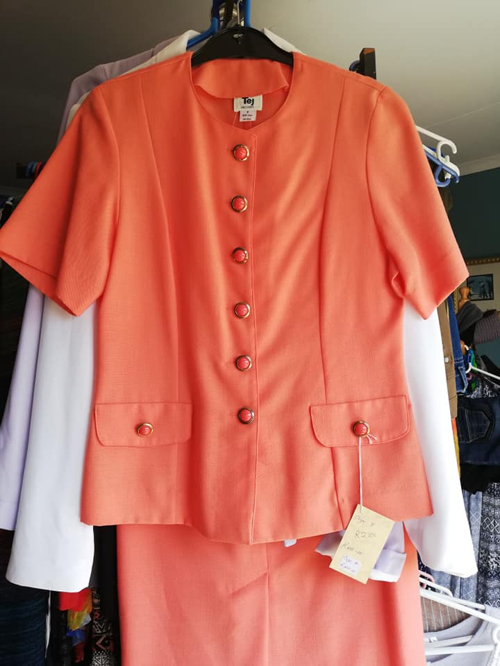 Peach work outfit for sale