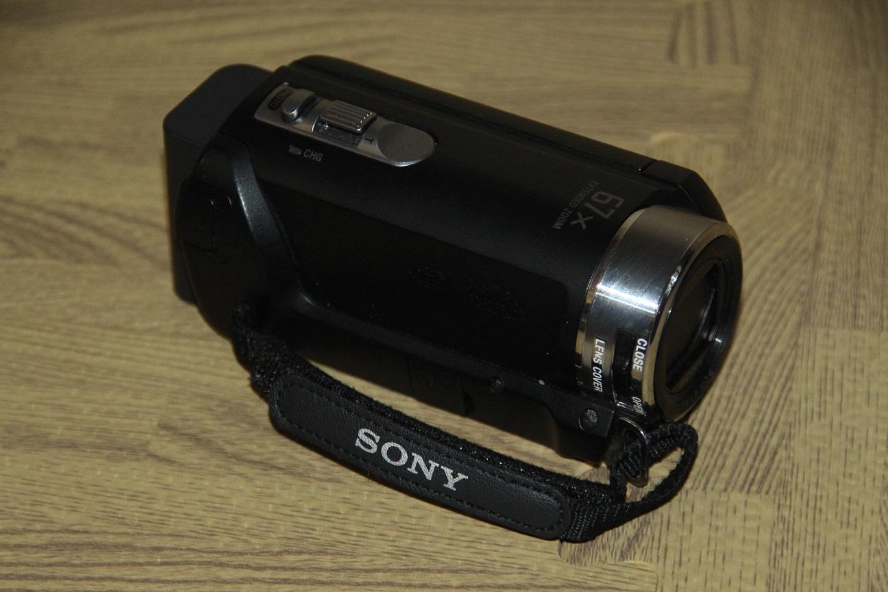 Sony handycam video camera DCR-SX21