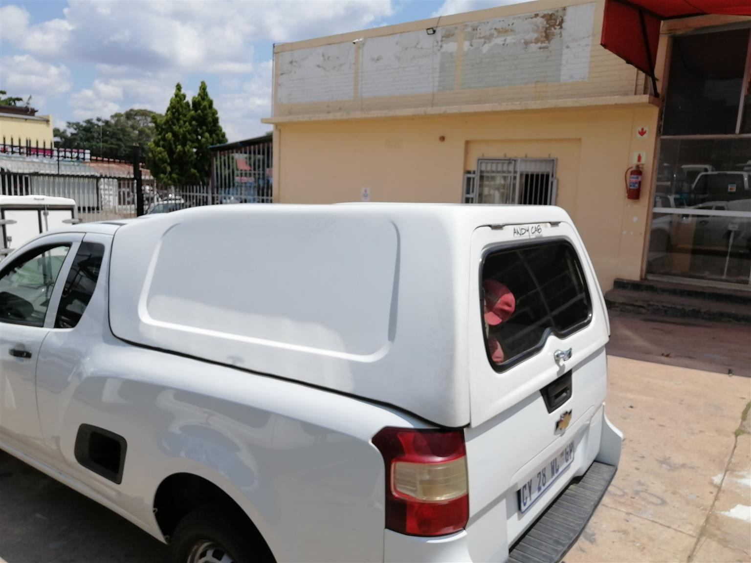 CHEVROLET UTILITY BAKKIE BLIND SIDE ANDYCAB 2012-2019 CANOPY FOR SALE !!