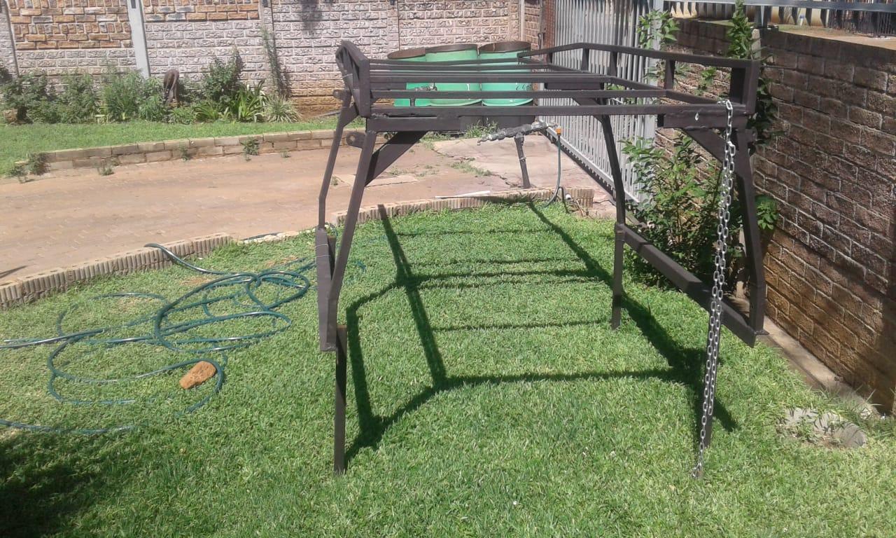 Corsa steel frame