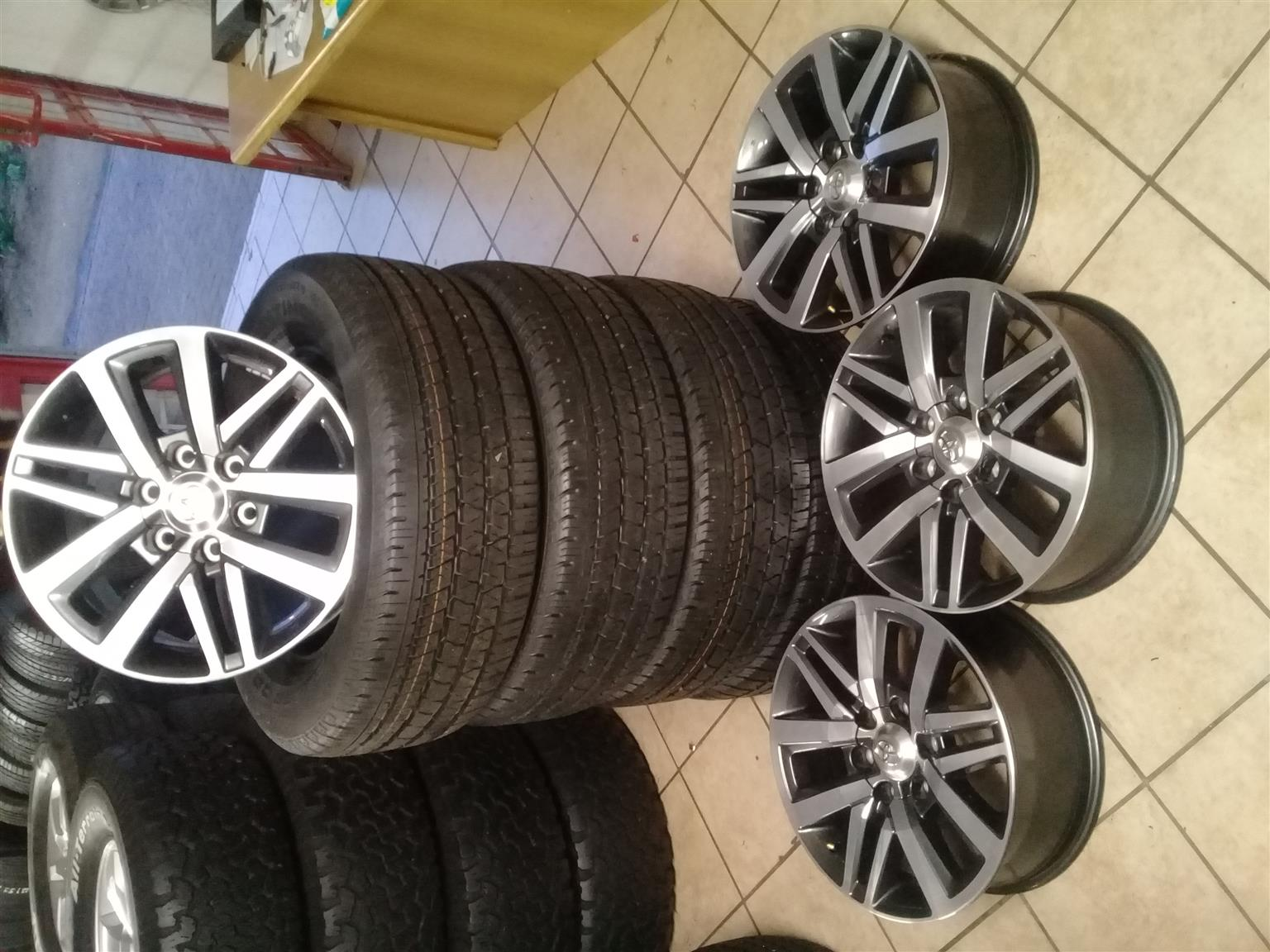 FOR ALL YOUR RIMS AND TYRES NEW AND USED FOR BAKKIES /SUV ANDSEDAN NEW TYRES FROM R480 USED  TYRES FROM R250, ,