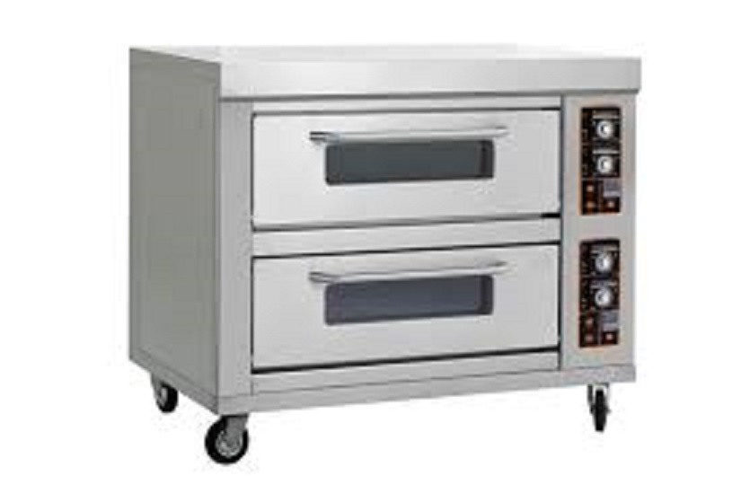 New Double Deck Oven - 6 Tray