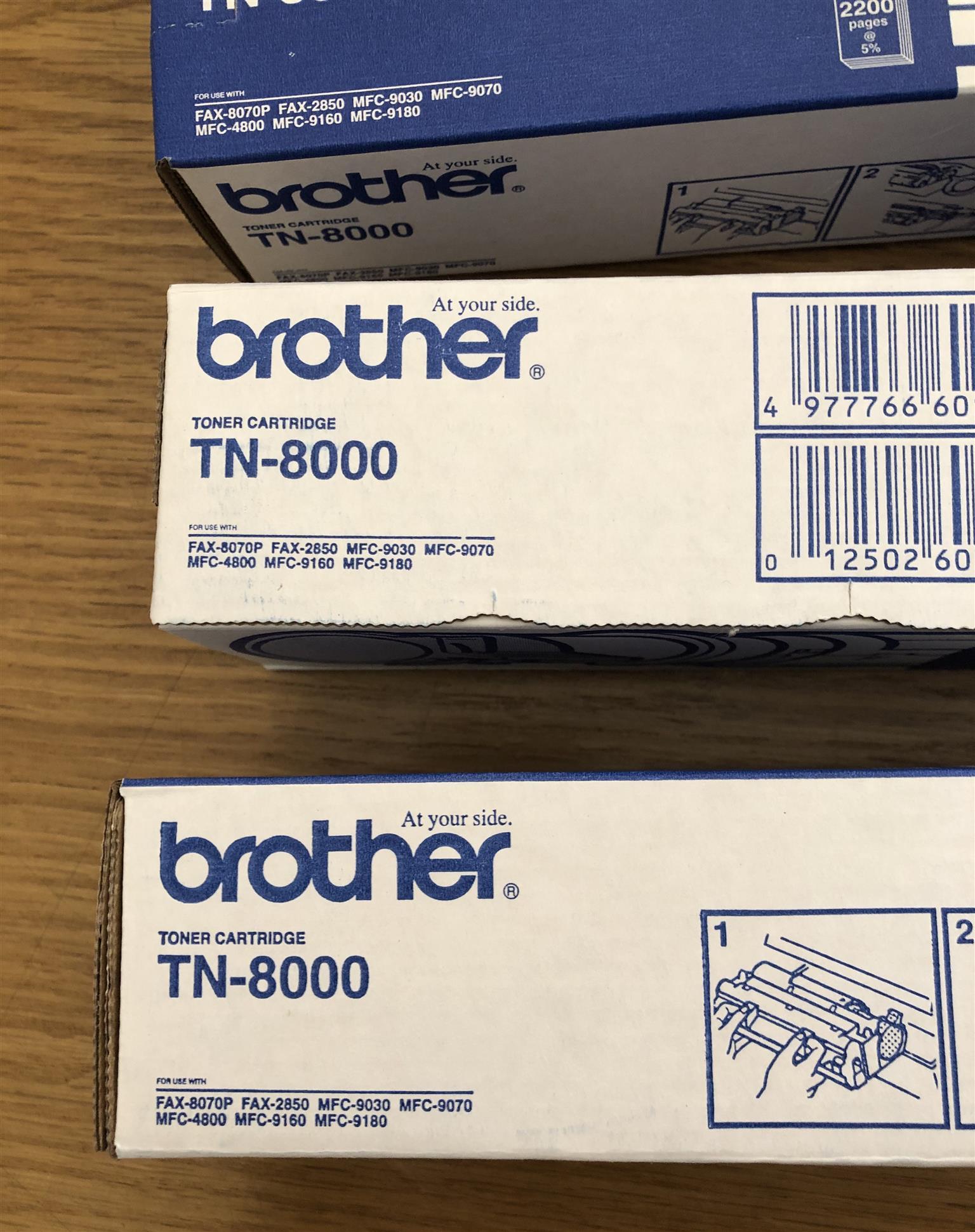 Brother TN-8000 Toner Cartridge for Laser Printer
