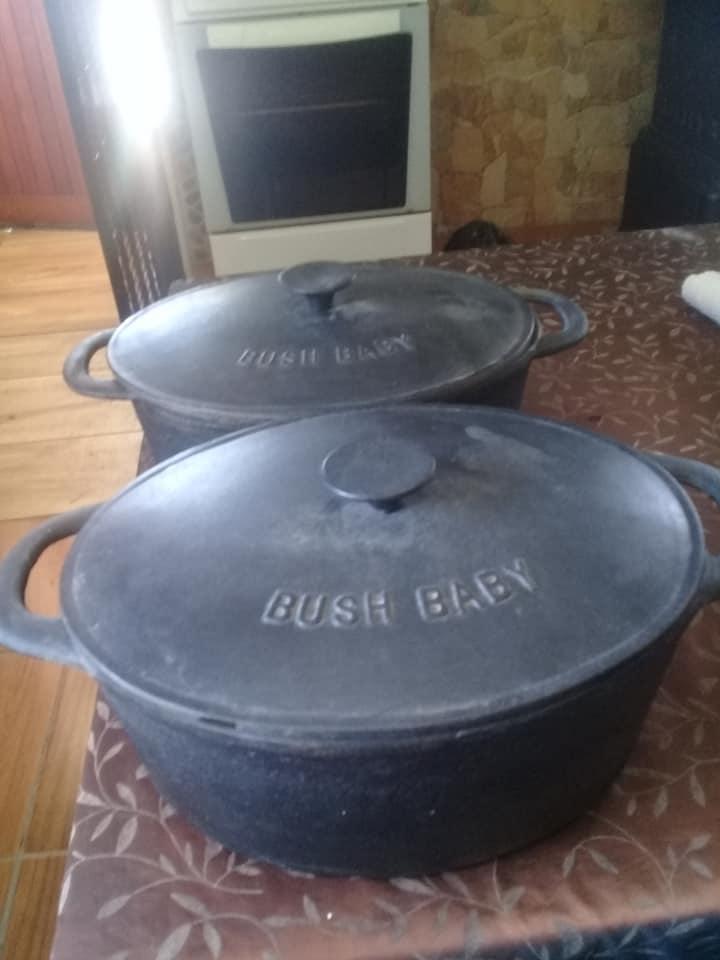 2 BUSHBABY POTS FOR SALE