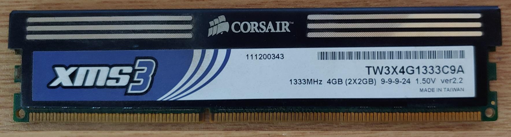 cosair server ram $4GB sticks