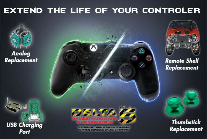 We do any repairs on Gaming Consoles and Controllers