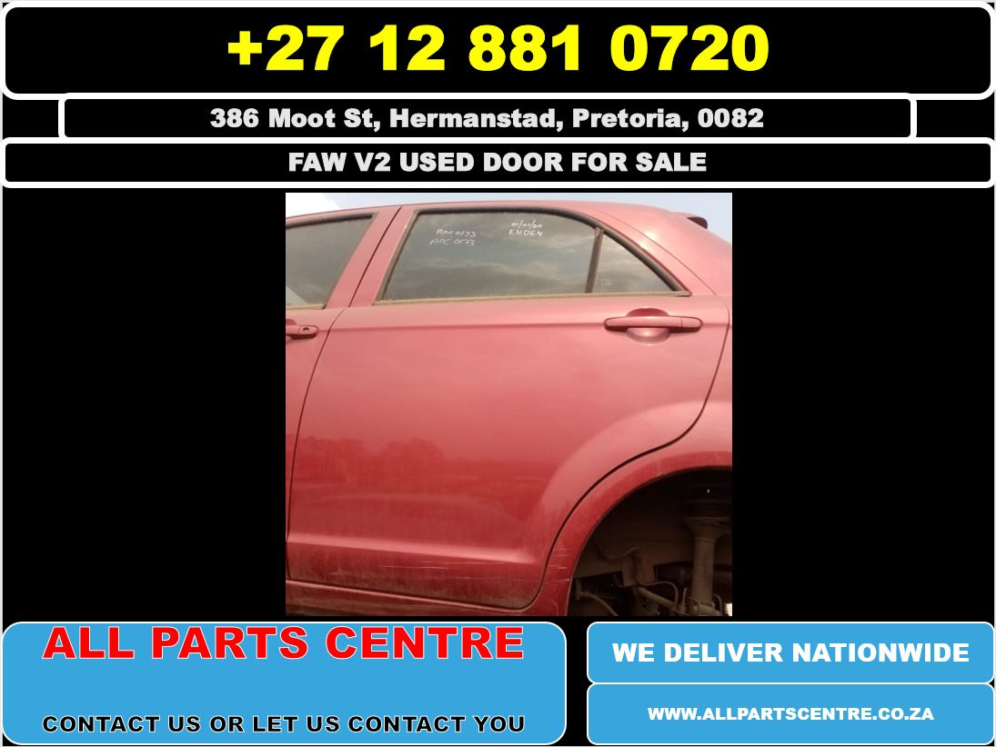 FAW v2 used doors for sale