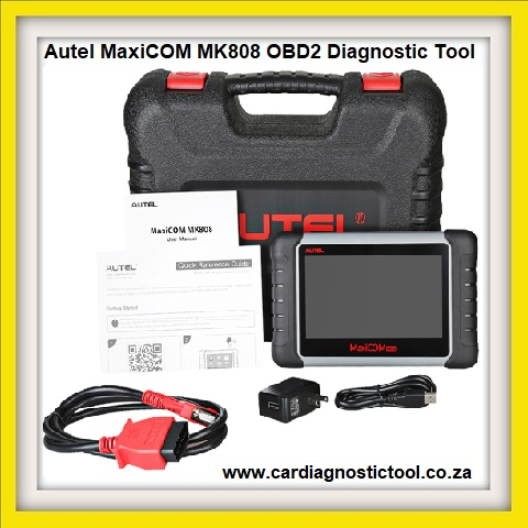 Autel MaxiCOM MK808 OBD2 Diagnostic Tool 7-inch LCD Touch with All System &Service Functions of EPB/IMMO/DPF/SAS/TMPS Etc.