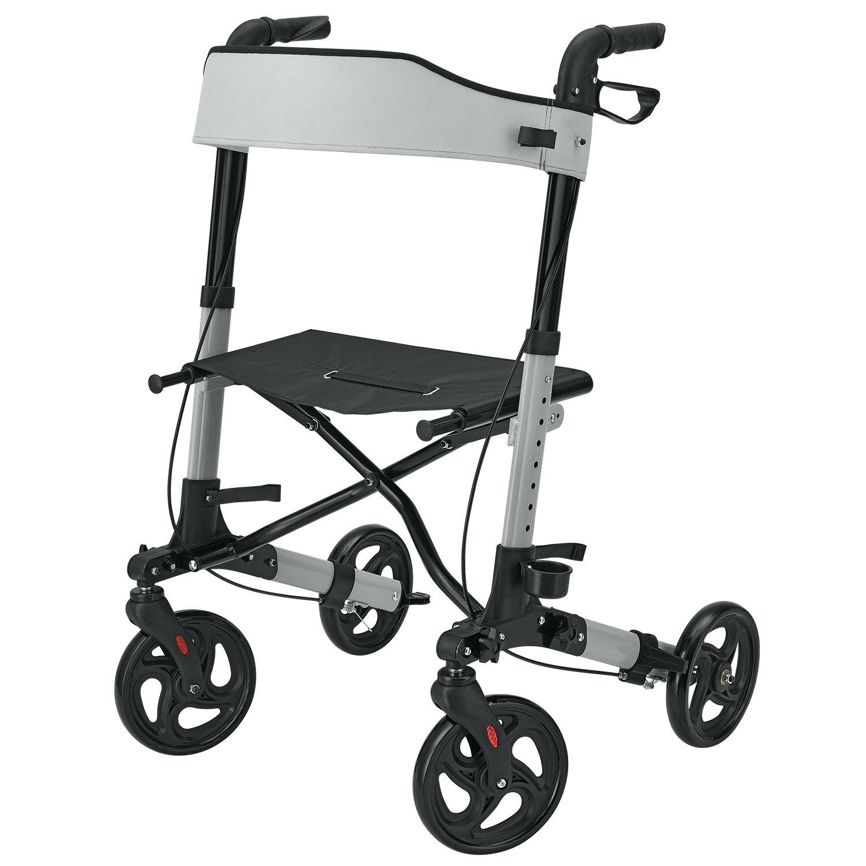HealthSmart Gateway Luxury Euro-Style Rollator - ON SALE - FREE DELIVERY