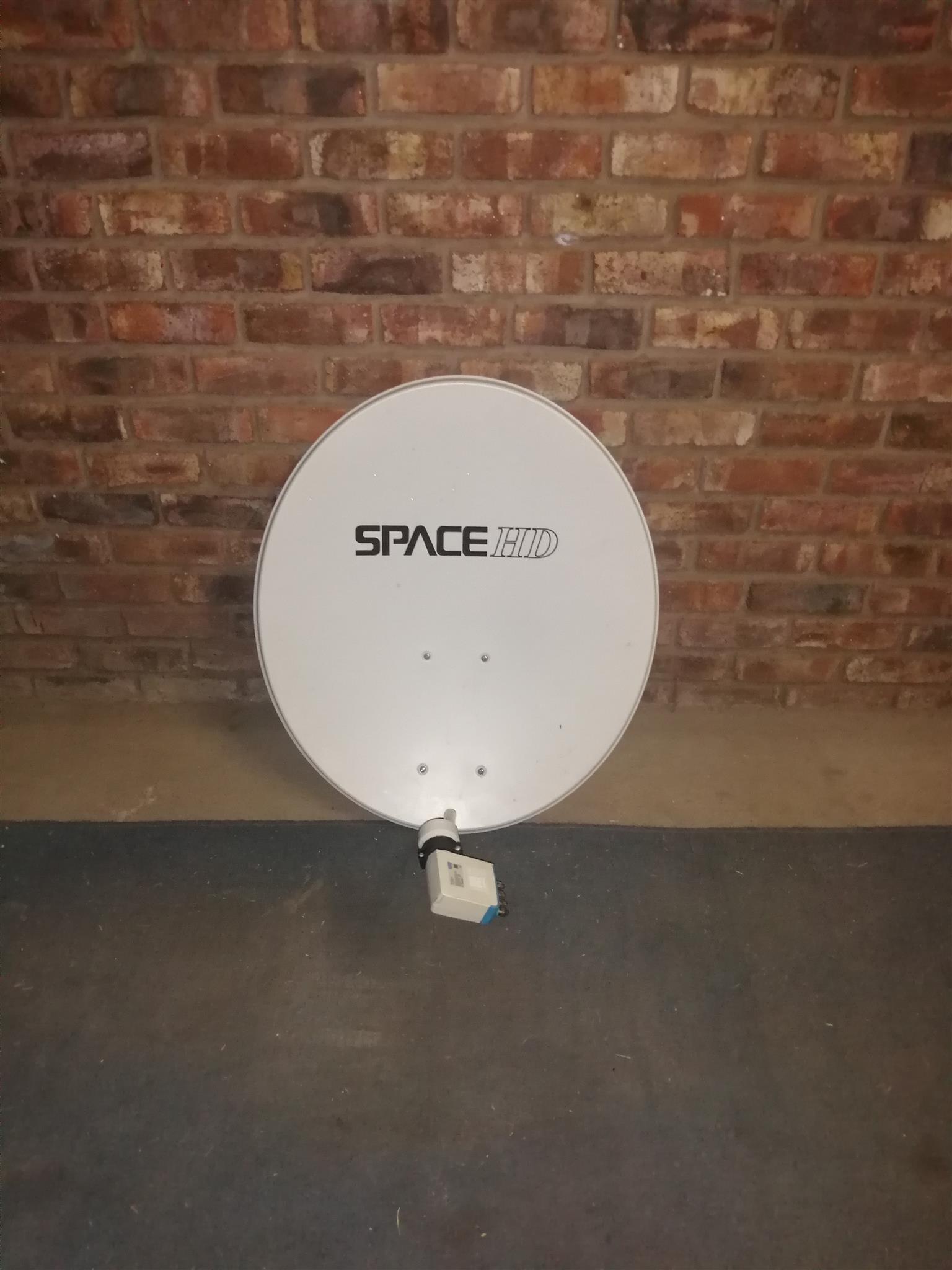 Space HD 85cm satellite dish with DSTV SMART LNB