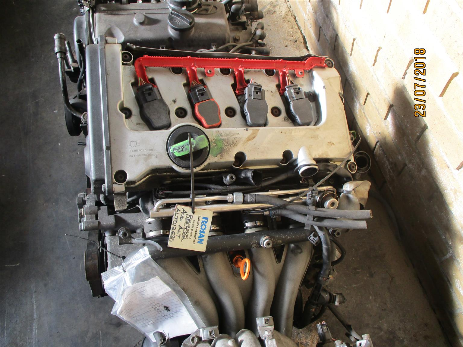 Audi 20 Engine For Sale