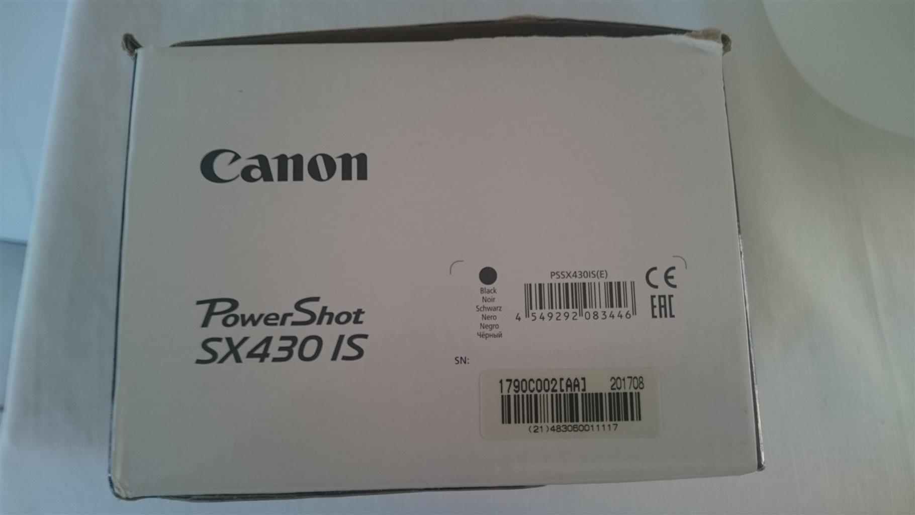 CANON POWERSHOT SX 430