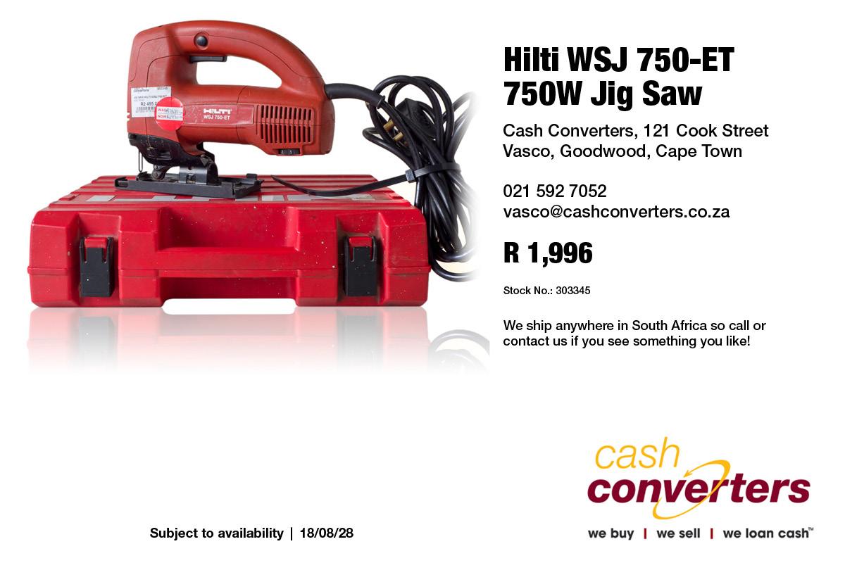 Hilti WSJ 750-ET 750W Jig Saw