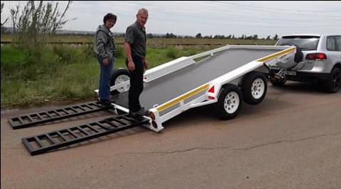 Tipping Car trailers for sale